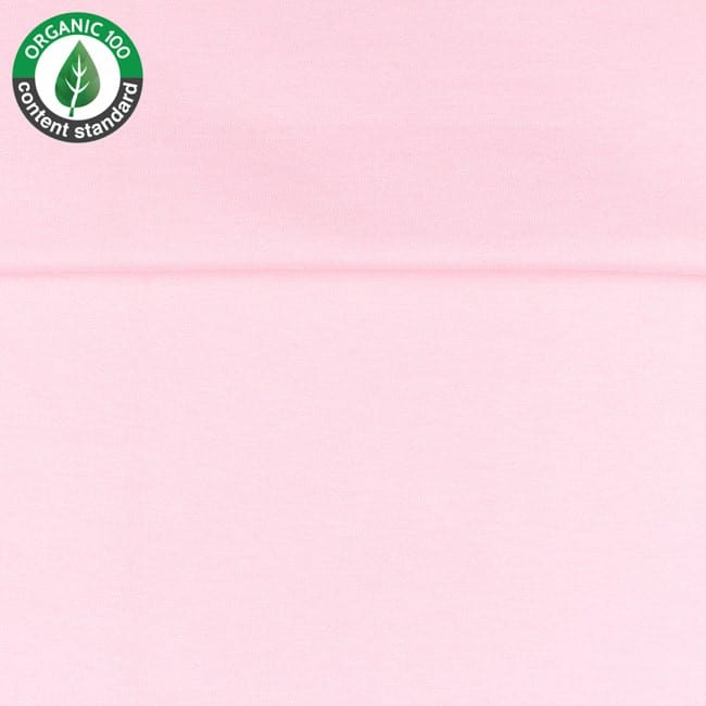 Light Pink - Organisk rib