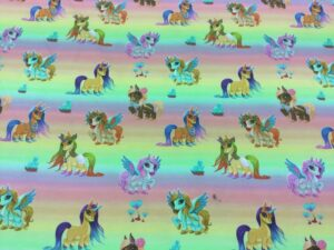 Jersey print med My little Pony