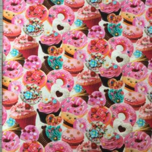 Jersey print med cupcakes