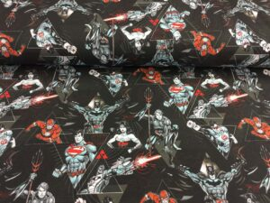 Jersey print med Justice League 2
