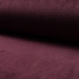 Wellness fleece i aubergine
