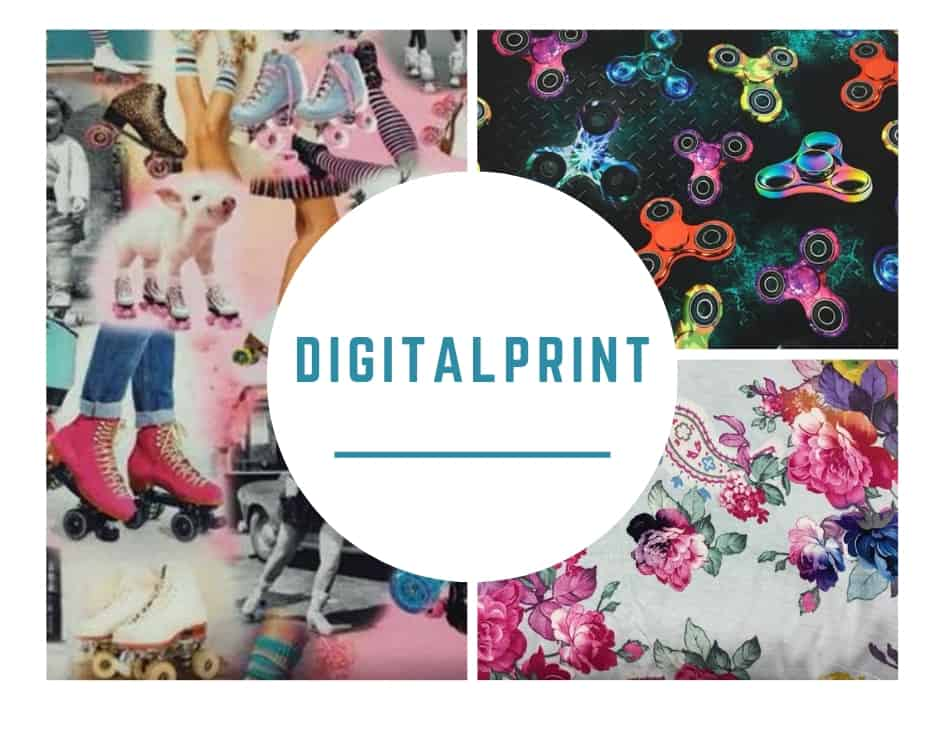 Digitalprint - rester